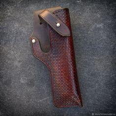 Мужские сумки ручной работы. Кобура для Colt 1911, мод.2. Labour. Интернет-магазин Ярмарка Мастеров. Коричневый, охотнику