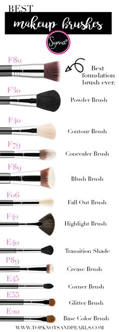 The Best of Sigma Makeup Brushes for a full face look.