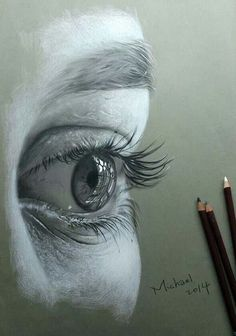 Draw Eyes Realistic Drawing Pencil Portraits - Pencil Portrait Mastery Eye drawing: Discover The Secrets Of Drawing Realistic Pencil Portraits Discover The Secrets Of Drawing Realistic Pencil Portraits Eye Pencil Drawing, Realistic Pencil Drawings, Drawing Eyes, Pencil Art, Painting & Drawing, Charcoal Drawings, Charcoal Drawing Tutorial, Human Face Drawing, Contour Drawings