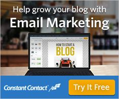 Help grow your audience with Constant Contact email marketing Email Marketing Software, Internet Marketing, Online Marketing, Digital Marketing, Marketing Tools, Media Marketing, Money Saving Mom, Make Money Blogging, Email Campaign