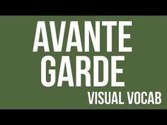 Avante Garde defined - From Goodbye-Art Academy - YouTube