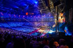 Salvation Army's 150th Anniversary at London's O2 Arena.  Produced by Corporate Magic, Inc.