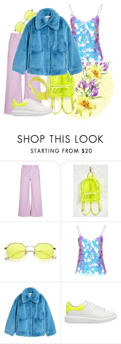 """""""Holo Mermaid"""" by jessicajasr on Polyvore featuring STELLA McCARTNEY, Forever 21, Face to Face, Jakke, Alexander McQueen and Urbanears"""