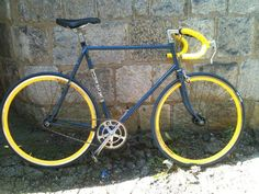 Ed H's Conversion - EighthInch Fixed Gear Bike Contest - http://www.facebook.com/EighthInch