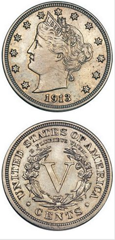 1913 Liberty Head Nickel brings $3.2m to Heritage Very rare only 5 of this coin was minted in that year. Amazing/fascinating!!! :)
