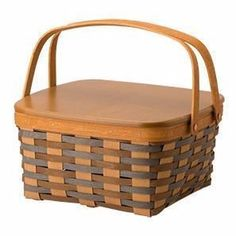 Longaberger Cake Basket / WoodCrafts Lid / Protector - 5 Colors   **NEW**