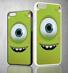 monsters inc face WALLPAPER Y1294 iPhone 4S 5S 5C 6 6Plus, iPod 4 5, LG G2 G3 Nexus 4 5, Sony Z2 Case