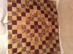 The browns have it by emeraldfirequilts on Etsy, $95.00