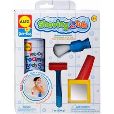 Alex Toys Bathtime Fun Shaving in the Tub, Multicolor