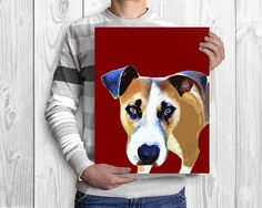 Custom dog painting Dog remembrance Dog memorial Pet loss