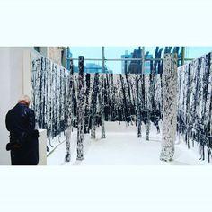 KOOS Gábor: 20-Year-Old-Forest, 2015 #Budapest #artmarketbudapest2015 #artmarket #millenaris #installation #artmarketbudapest #photogram #artphoto #frottage #woodcut #print #forest #fineart #kunstausstellung #exhibition #landscape #insta_budapest #ilovebudapest #ig_magyarorszag #ig_artistry #ig_budapest #artlovers #instaart