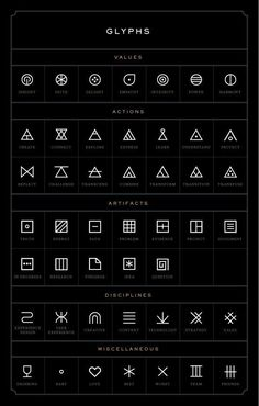 Image result for transition glyph tattoo