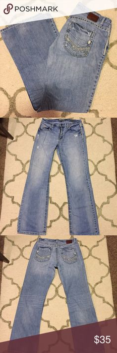 BKE men's Tyler jeans BKE Denim by Buckle, Tyler style, size 34XL. In great condition with the exception of the very light stain on the back left leg, picture above and hardly noticeable! Retails for $75. I offer discounts on bundles! BKE Jeans Bootcut