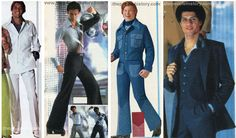 Seventies Mens Fashion Examples - the Leisure Suit. I made one for my prom date in peach plaid. 1980s Mens Fashion, Mens Fashion Blazer, Mens Boots Fashion, Men Fashion Show, Vintage Fashion, 1977 Fashion, Men's Fashion, Vintage Summer Outfits, Piercings