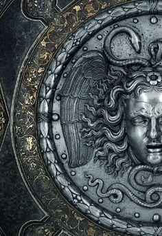 """johnnybravo20: """" Medusa Shield (by Filippo Negroli) """""""
