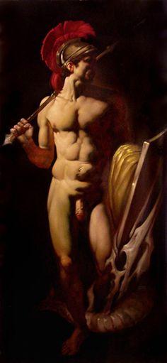 Roberto Ferri - Giasone olio su tela