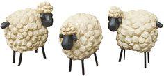 Trio of Sheep - Kruenpeeper Creek Country Gifts
