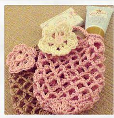 Crochet gift bags