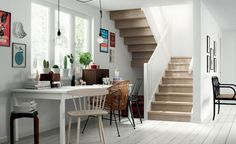 bright workspace (via Stryn) (my ideal home. Creative Interior Design, Interior Design, House Interior, Bright Workspace, Home Remodeling, Home, Interior, My Ideal Home, Home Decor