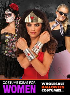 Check Out The Hottest Women's Halloween Costumes, Licenses & Styles At Wholesale Prices
