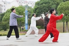 Tai chi is a self-defense and calisthenics technique developed in China centuries ago.