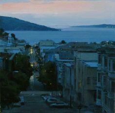 Ben Aronson Twilight by the bay