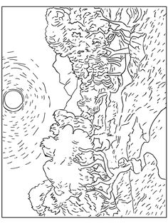 Famous Paintings - 999 Coloring Pages