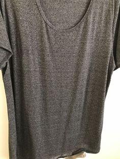LuLaRoe 2XL Classic T Shirt Heather Charcoal Grey #LuLaRoe #Blouse