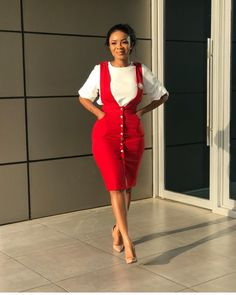 Latest Corporate Attire for the Week Classy Work Outfits, Office Outfits, Classy Dress, Office Wear, Casual Office, White Office, Office Style, Stylish Office, African Print Fashion