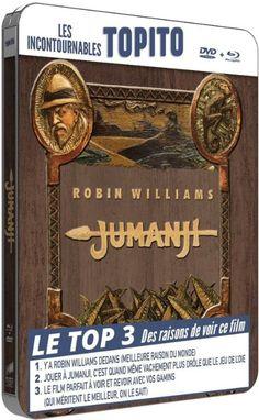 Jumanji - Boitier métal - Collection Topito - Combo BD + DVD [Blu-ray] [Blu-ray…