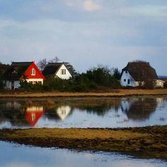 Spiegelung im #Wasser.  #spiegelbild #spiegelung #naturelovers #see #beautiful #instanature #hiddensee #ihiddensee #mv_liebe #wirsindinsel #mvp #mecklenburgvorpommern #mv #nature