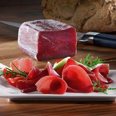Bündnerfleisch  Cured beef meat, Canton of Grison, Switzerland