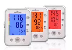 (Large Cuff) Easy Digital Upper Arm Blood Pressure Monitor (BP Monitor) with Hypertension Backlit display and Pulse Meter-FDA approved for OTC, IHB Indicator, 2 User Mode, 2 Year Warranty. Heart Pressure, Good Blood Pressure, Best Fitness Tracker, Waterproof Fitness Tracker, Desktop Design, Irregular Heartbeat, Thing 1, In A Heartbeat, Monitor
