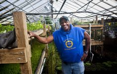 Urban Growth: Will Allen - Basketballer/Businessman Turned Urban Farmer