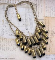 must have friday :: bullet necklaces make me happy | Ever So Lovely™ :: All Things Design & Beautiful