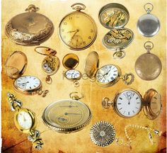 Old Pocket Watch PSD
