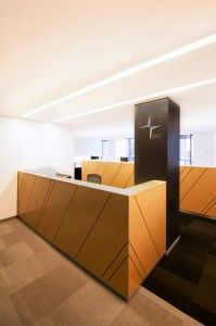 EVC | The Bold Collective | Office reception