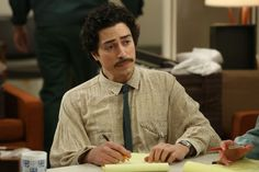 Zosia Mamet, Colin Hanks, and Others Predict Where Their Mad Men Characters Ended Up Mad Men Characters, Ben Feldman, Colin Hanks, Zosia Mamet, Men Tv, Mad Men Fashion, Fashion Gallery, Vintage Outfits