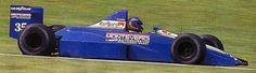 1990 Gregor Foitek, Monteverdo Onyx Formula One Team, ONIX ORE-2 Ford