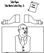 Martin Luther King Jr. I HAVE A DREAM CRAFT