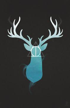 Harry Potter Stag Design
