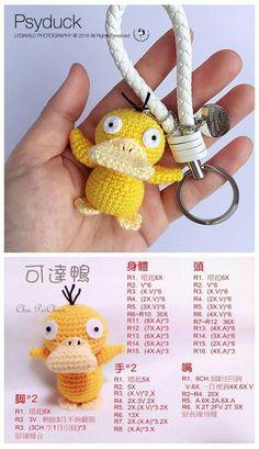 Free crochet pattern duck