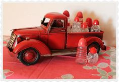 red truck and red S how cute is this!  20 North Ora