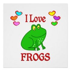 I  Frogs!