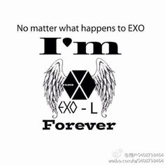 I'm forever and ever an exo-L whatever happens. I'm proud to be an exo-L Exo i love you ❤️