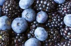 Blueberries Photograph - Blue And Black Berries by Heidi Smith