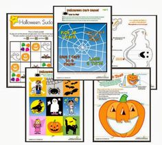 FREE Halloween printables- fun stuff!