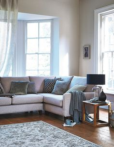 Simple and liveable, the new Dylan corner group is a contemporary classic that's particularly perfect for family rooms. This-laid back look is muted modern style at its finest. http://www.multiyork.co.uk/corner-sofas/dylan-corner-group