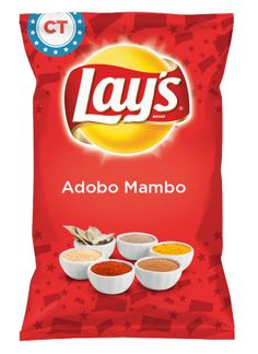 Wouldn't Adobo Mambo be yummy as a chip? Lay's Do Us A Flavor is back, and the search is on for the yummiest chip idea. Create one using your favorite flavors from around the country and you could win $1 million! https://www.dousaflavor.com See Rules.