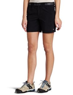Columbia Women's Sandy River Cargo Short,Black,Large. For product & price info go to:  https://all4hiking.com/products/columbia-womens-sandy-river-cargo-shortblacklarge/